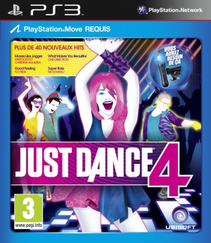 Just Dance 4 (PS3 Move, Xbox 360 Kinect)