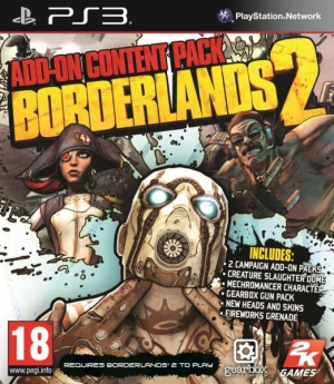 Borderlands 2 Add-On Content Pack (PS3, XBox 360)