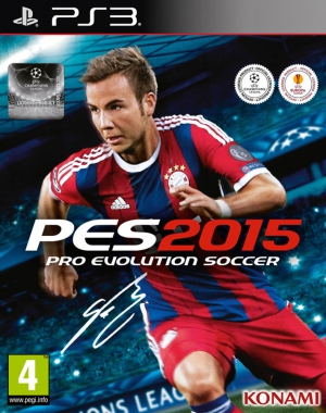 Pro Evolution Soccer 2015 (PES 15) (PS3, XBox 360)