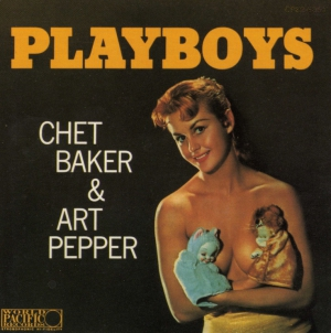 Chet Baker & Art Pepper - Playboys (LP)