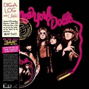 New York Dolls - Live At Radio Luxembourg, Paris 1973 (LP)