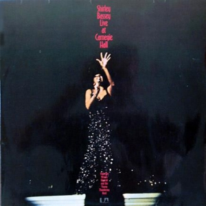 Shirley Bassey - Live At Carnegie Hall (2LP)