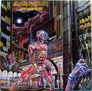 Iron Maiden - Somewhere In Time (LP)