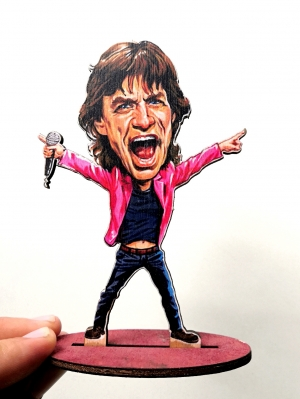 Mick Jagger (The Rolling Stones) - фигурка 14см